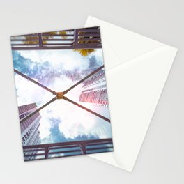 Looking up Sky Stationery Cards