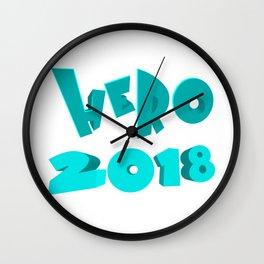 Hero 2018 Wall Clock