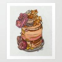 Art Print featuring Sweet lovin' by BethanieWarrenArt