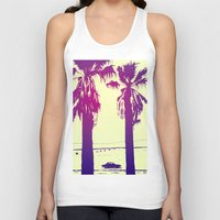 palms Tank Tops featuring Palms by Giuseppe Cristiano