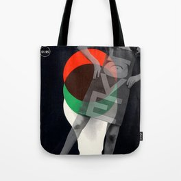 LOVE media Tote Bag