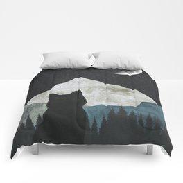 Black Cat 2 Comforters