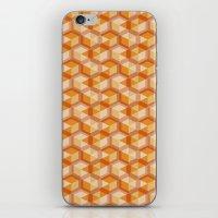escher iPhone & iPod Skins featuring Escher #004 by rob art | simple