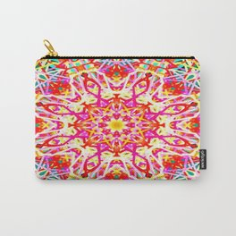 Flower of Lines Carry-All Pouch