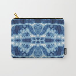 Tie Dye Blues Twos Carry-All Pouch