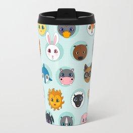 Baby Animal Dots Travel Mug