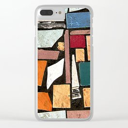 Outside the Barbershop Clear iPhone Case
