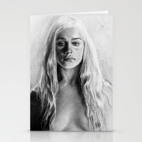 targaryen Stationery Cards featuring Stormborn by apostatemages