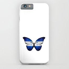 Catrachos, Honduras Flag, Honduran Flag, Butterfly wrapped, Honduras, honduran, Orgullo, Pais iPhone Case