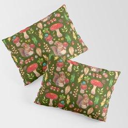 Red mushrooms and friends - GBG Pillow Sham