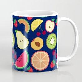 Fruit pattern vector illustration colorful Coffee Mug