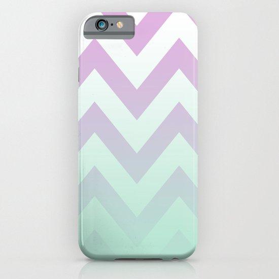 PINK CHEVRON MINT FADE iPhone & iPod Case