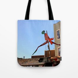 A Flying Leap Tote Bag