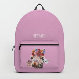 Hey Babe! I Backpack
