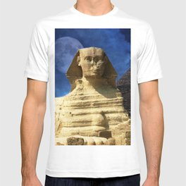 Sphinx  and Pyramid T-shirt