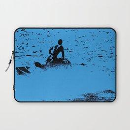 Blue Waters - Jet Ski Fun Laptop Sleeve