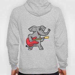 Guitar elephant Hoody