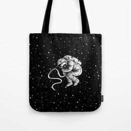 reborn in space Tote Bag