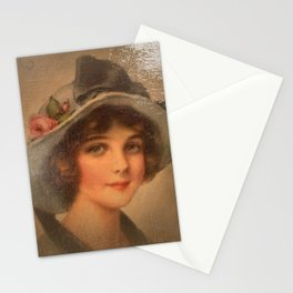 Vintage Lady 02 Stationery Cards