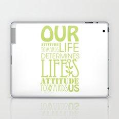 Life's Attitude Laptop & iPad Skin