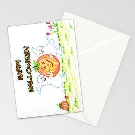 pumpkin thief Stationery Cards