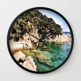Shallow Waters Wall Clock