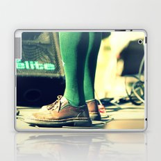 Green socks Laptop & iPad Skin