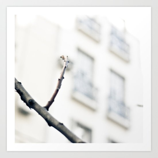 Lonely Winter (Minimalist Photography) Art Print