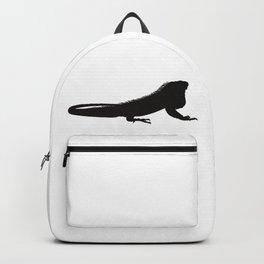 Giant Lizard Silhouette Backpack