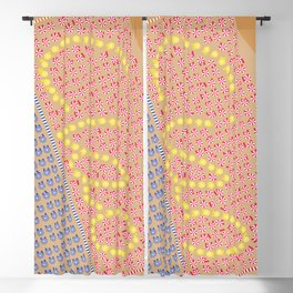 Ciao / Hello Italy Beach Umbrellas - Aerial Italian Blackout Curtain