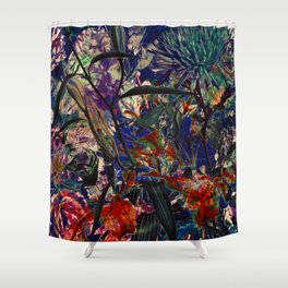 FLOWERS 9263 Shower Curtain