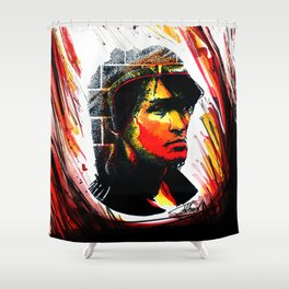 Tsoi is alive (Kino ) Shower Curtain