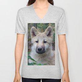 Wolf Puppy Unisex V-Neck