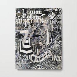 Beach House - 7 in Colour Metal Print