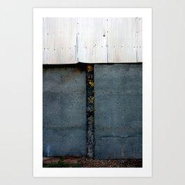 Steel Doors Art Print