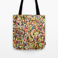mexico Tote Bags featuring Mexico by Jose Luis