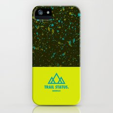 Trail Status / Green iPhone (5, 5s) Slim Case