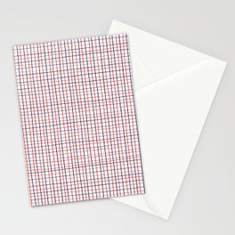 French Grid Stationery Cards
