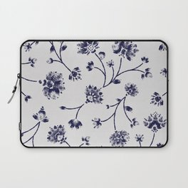 Indigo Floral Trail (reversed) Laptop Sleeve