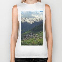 Val di Mazia in Alps, Italy Biker Tank