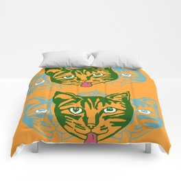 Mollycat Orange Comforters