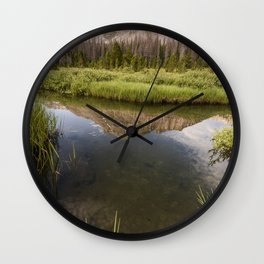 Reflect on yourself Wall Clock