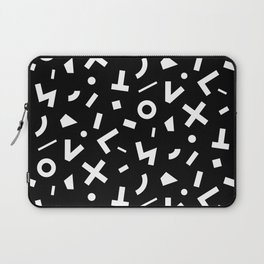 signal pattern Laptop Sleeve