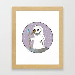 Little Grim Reaper Framed Art Print