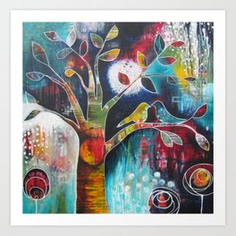 Love and its Many Colours Art Print