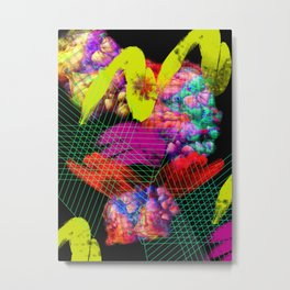 Festive Abstraction 7 Metal Print