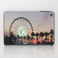 coachella iPad Cases featuring Coachella by Lauren Haney