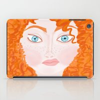 ginger iPad Cases featuring Ginger by Amanda K. Hootman