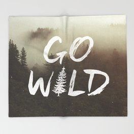 Go Wild Throw Blanket
