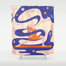 Сosmic yoga Shower Curtain
